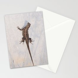 Heat-Loving Lizard Stationery Cards