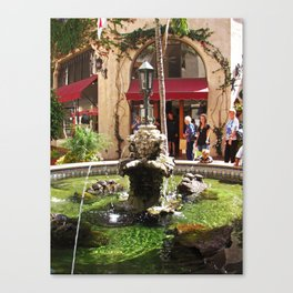Santa Barbara Turtle Fountain 2535 Canvas Print