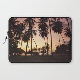 Palm trees on the Seychelles Laptop Sleeve