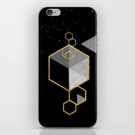 Geometric Space Scandinavian iPhone Skin