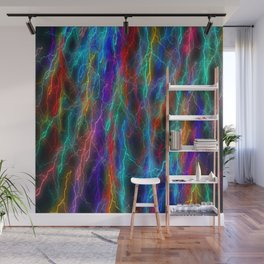 wizzard flashes pattern abstract Wall Mural