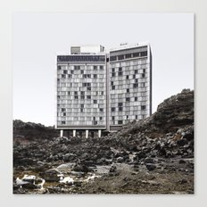 Misplaced Series - Standard Hotel Canvas Print