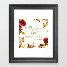 Isaiah 53:5 Framed Art Print