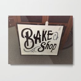 My Bake Shop Metal Print