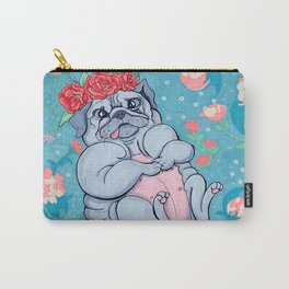 Pretty Pug Carry-All Pouch