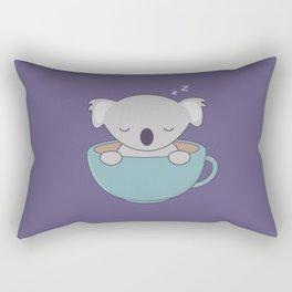 Kawaii Cute Koala Bear Rectangular Pillow