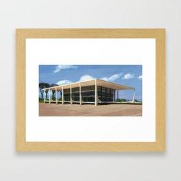 Brasilia Framed Art Print