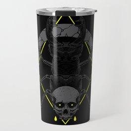 shell skull Travel Mug
