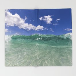 Magical Coast Throw Blanket
