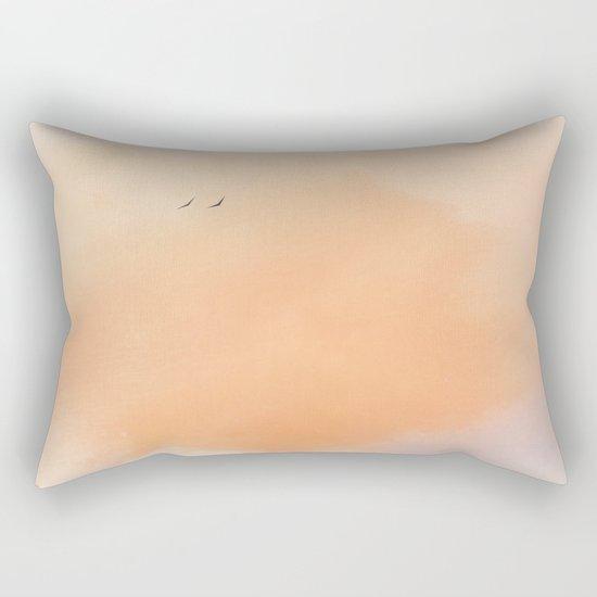 Morning Flight Rectangular Pillow