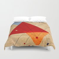 jazzberry Duvet Covers featuring knot by .eg.