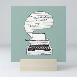 PERKS OF BEING A WALLFLOWER. Mini Art Print