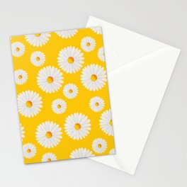 Yellow Daisy Repeat Stationery Cards