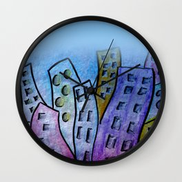 design for curtains and more -5- Wall Clock