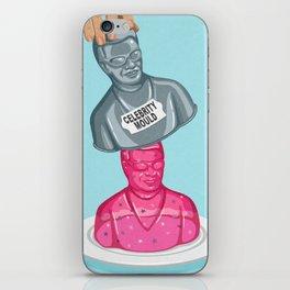 Instant celebrity iPhone Skin