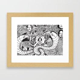 Beasting Delux Mode Framed Art Print