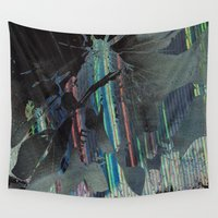 moth Wall Tapestries featuring Moth by RDKL, Inc.