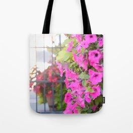 Floral Divisions Tote Bag