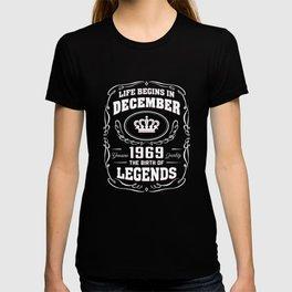 December 1969 The Birth Of Legends T-shirt