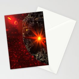 Asteroid Stationery Cards