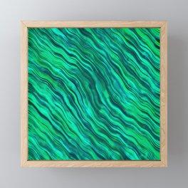 EMERALD WOOD Framed Mini Art Print