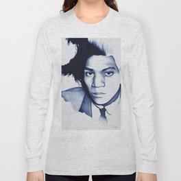 Jean Michel Basquiat Long Sleeve T-shirt