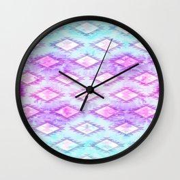 Watercolor Navaho Wall Clock