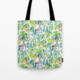 Endangered in the Rainforest Tote Bag