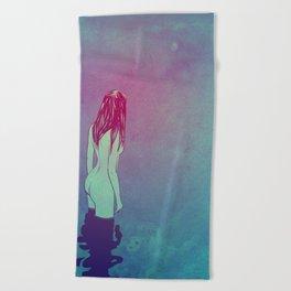 Skinny Dipping Beach Towel