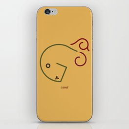 g- goat iPhone Skin