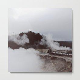 Excelsio Geyser Crater Metal Print