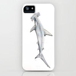 Hammerhead shark for shark lovers, divers and fishermen iPhone Case