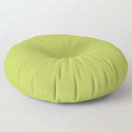 Simple Solid Color Avocado Green All Over Print Floor Pillow