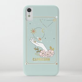 Capricorn Zodiac Series iPhone Case