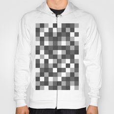 Colour Block Black and White Hoody