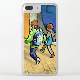 Brothers Clear iPhone Case