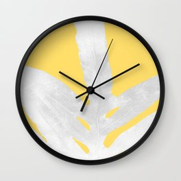 Ferns and Tangerines Wall Clock