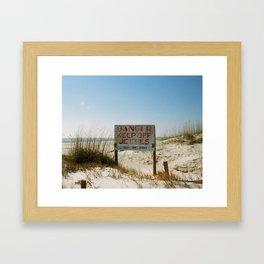 Tybee Island Framed Art Print