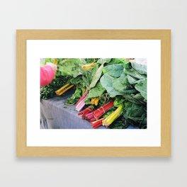 Chard for Sale Framed Art Print