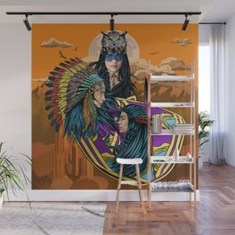 The meeting Wall Mural