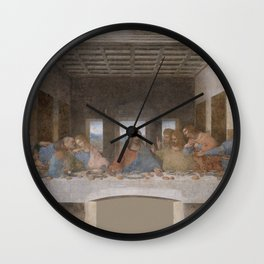 "Leonardo da Vinci ""The Last Supper"" Wall Clock"