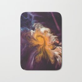 Before Time Paint Galaxy (Color) Bath Mat