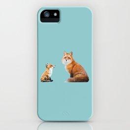 Fox Tenderness iPhone Case