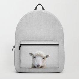 Sheep - Colorful Backpack