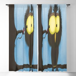 Oliver the Owl and his Visitor Blackout Curtain