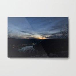 Kinzua Dam Sunset Metal Print