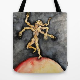 The Burning World Tote Bag