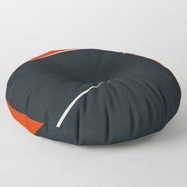 Mid century geometric large abstract Floor Pillow