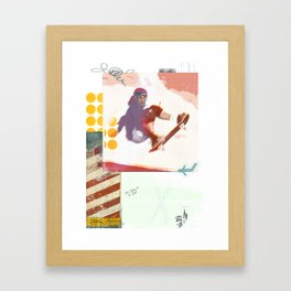 Jump so high Framed Art Print