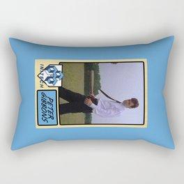 Peter Gibbons Baseball Card Rectangular Pillow